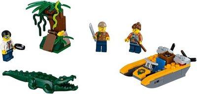 60157 LEGO City Jungle startset