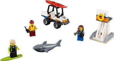 60163 LEGO City Kustwacht startset