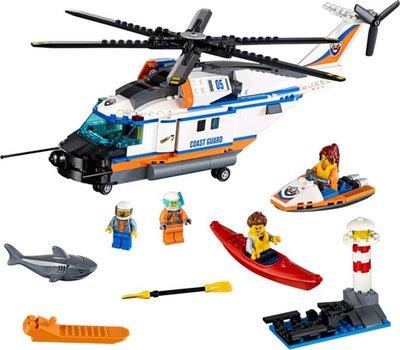 60166 LEGO City Zware reddingshelikopter