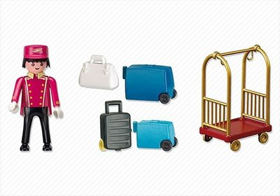 5270 Playmobil Piccollo met Bagage