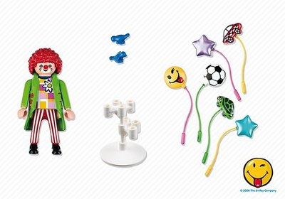 5546 PLAYMOBIL Summer Fun Kermis Smileyworld Ballonnenverkoper