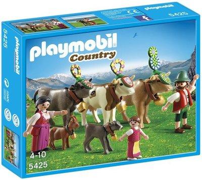 5425 Playmobil Traditionele Afdaling in de Alpen (Doosje iets beschadigd)