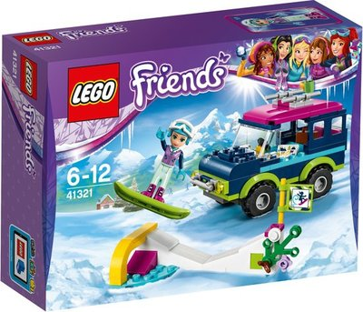 41321 LEGO® Friends Wintersport Terreinwagen