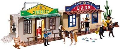 4398 Playmobil Mijn meeneem Westernstad