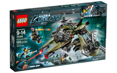 70164 LEGO Ultra Agents Orkaan Roofoverval