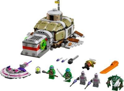 79121 LEGO® Turtles Turtle Onderzeeër Achtervolging