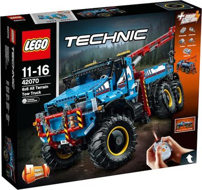 42070 LEGO® Technic 6x6 Allterrain-sleepwagen