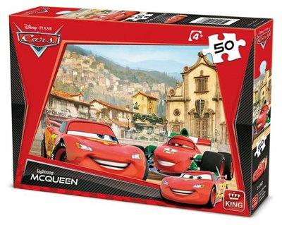 5108B King Puzzel Disney Cars 50 Stukjes
