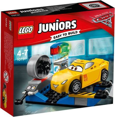 10731 LEGO® Juniors Cars 3 Cruz Ramirez Race-simulator