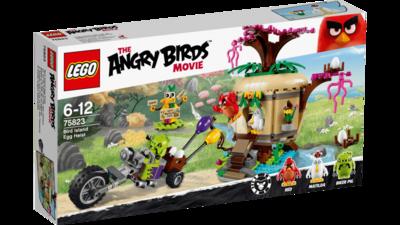 75823 LEGO Angry Birds™ Bird Island Eierenroof