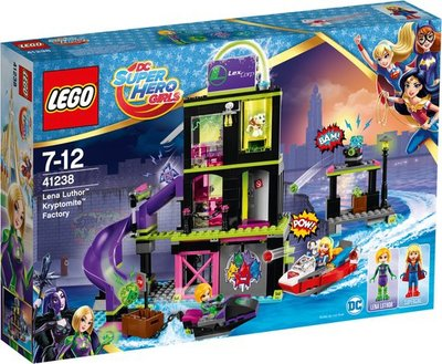 41238 LEGO® DC Super Hero Girls Lena Luthor Kryptomite-fabriek