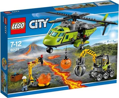 60123 LEGO® City Vulkaan Bevoorradingshelikopter