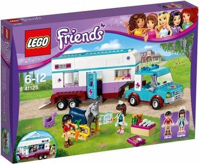 41125 LEGO® Friends Paardendokter Trailer