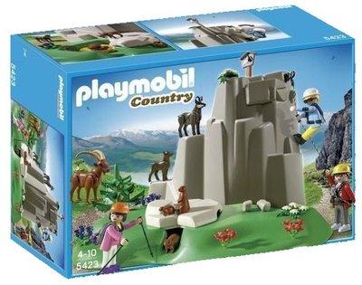 5423 Playmobil Bergbeklimming