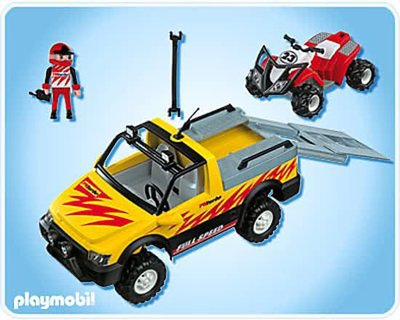 4228 Playmobil Pick Up met Quad