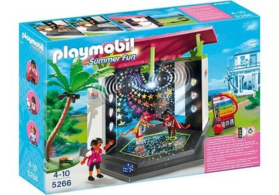 5266 Playmobil Kinderclub met Minidisco
