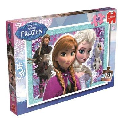 17440 Jumbo Puzzel Disney Frozen 50 stukjes