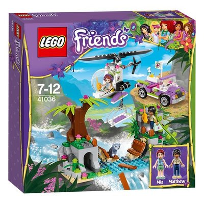 41036 LEGO® Friends Junglebrug Reddingsactie