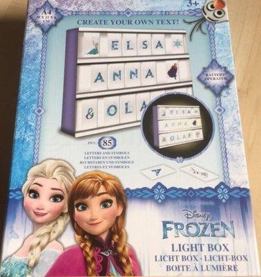 Frozen LED light box