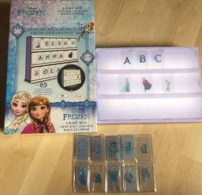 Frozen LED light box