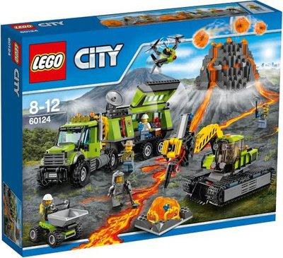 60124 LEGO® City Vulkaan Onderzoeksbasis