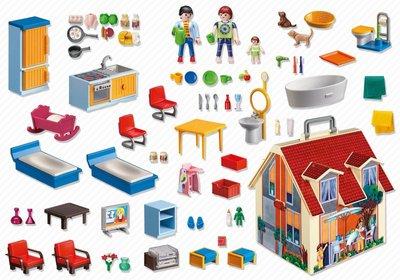 5167 Playmobil Mijn Meeneem Poppenhuis