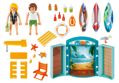 5641 Playmobil Speelbox Surfshop
