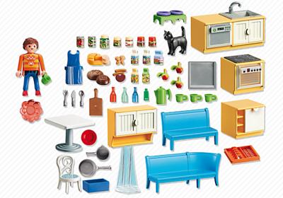 5336 PLAYMOBIL Dollhouse Keuken met zithoek