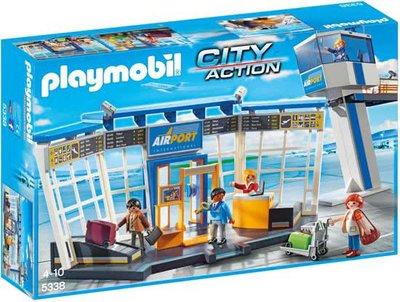 5338 PLAYMOBIL City Action Luchthaven met verkeerstoren