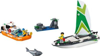 60168 LEGO® City Zeilboot Reddingsactie