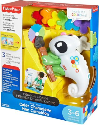 Fisher-Price Denken en Leren Smart Scan Kleurenkameleon