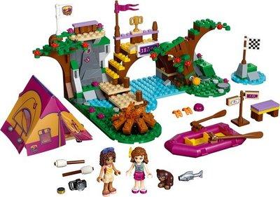 41121 LEGO® Friends Avonturenkamp Wildwatervaren