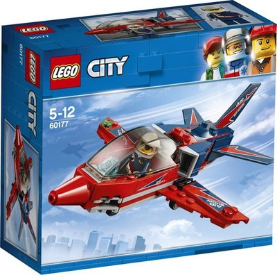 60177 LEGO® City Vliegshowjet