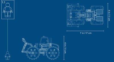 42071 LEGO® Technic Afvalpersdozer