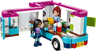 41319 LEGO® Friends Wintersport Koek-en-zopiewagen
