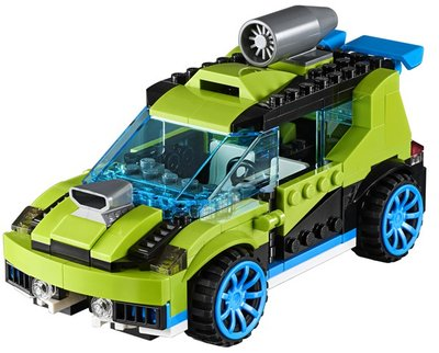 31074 LEGO Creator Raketrallyauto