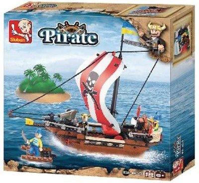 0279 Sluban Pirate Serie Piratenschip
