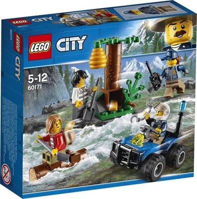 60171 LEGO® City Bergachtervolging