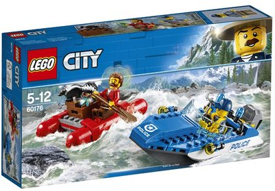 60176 LEGO® City Wilde Rivierontsnapping