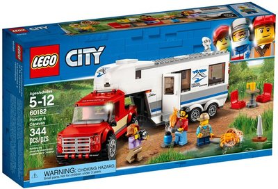 60182 LEGO® City Pick-uptruck en Caravan