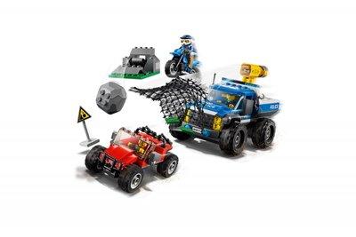 60172 LEGO® City Modderwegachtervolging