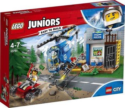10751 LEGO® Juniors City City Politieachtervolging in de Bergen