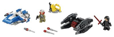 75196 LEGO® Star Wars™ A-wing vs. TIE Silencer Microfighters