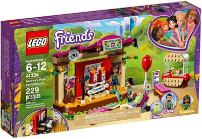 41334 LEGO Friends Andrea's Parkprestaties