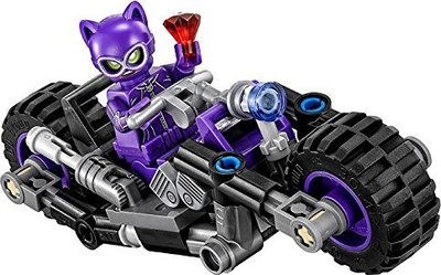 70902 LEGO® The Batman Movie Catwoman Catcycle Achtervolging