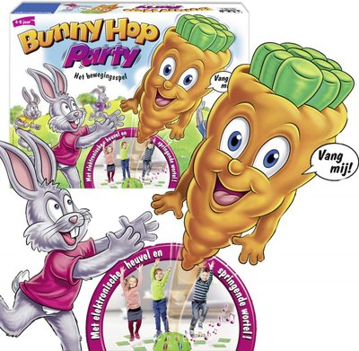212316 Ravensburger Bunny Hop Party - kinderspel
