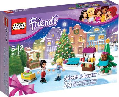 41016 LEGO® Friends Adventskalender (open geweest)