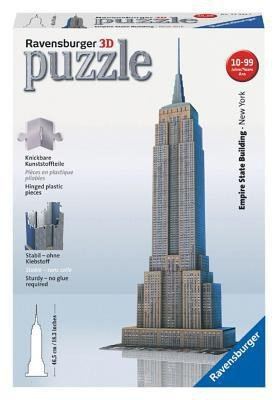 125531 Ravensburger 3D puzzel Empire State Building 216 stukjes
