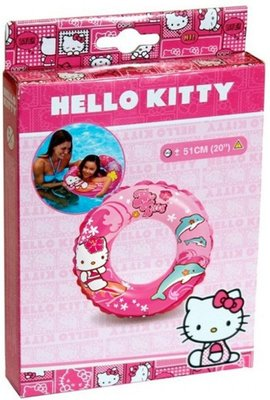 56200 Intex Hello Kitty Zwemring 51 cm