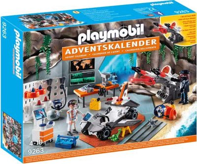 9263 Playmobil Adventskalender Top Agents